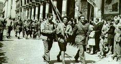 Partigiani a Bologna alla Liberazione