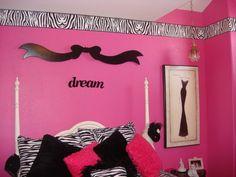 zebra bedroom for girls | socialcafe magazine | kids stuff