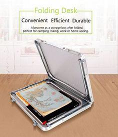 Portable Picnic Camping Folding Table Laptop Desk Notebook Bed Tray at Banggood