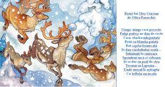Doamna Fagilor: Renii se pregătesc! Kids Education, Diagram, Seasons, Map, Winter, 1 Decembrie, Anul Nou, Montessori, Nails