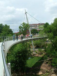 Liberty Bridge--Greenville, SC