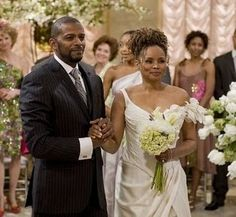 Darnell & Angie on All My Children (Debbi Morgan and Darnell Williams)  I loved this couple.