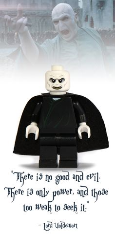Lord Voldemort Lego Minifigure - Harry Potter Collectibles