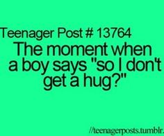 Kind of awkward, but if it is the guy you have a crush on, then you have an excuse to hug him. I love hugs <3