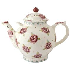 Rose & Bee Gallon Teapot