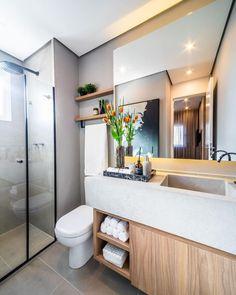 Precious Tips for Outdoor Gardens - Modern Limestone Countertops, Bathroom Countertops, Decor Interior Design, Interior Decorating, Grey Bathrooms, Bathroom Gray, Bathtub, House, Gray Instagram