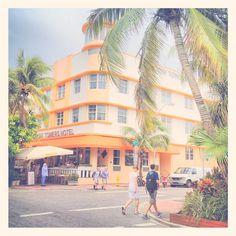 South Beach Miami Florida Art Deco