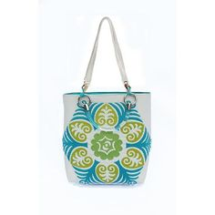 Suzani Teal Small Tote - Janna Lux