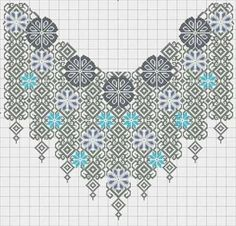 This Pin was discovered by Nat Folk Embroidery, Hand Embroidery Designs, Cross Stitch Embroidery, Embroidery Patterns, Cross Stitch Borders, Cross Stitch Designs, Cross Stitching, Cross Stitch Patterns, Blackwork Patterns