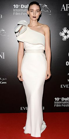 Rooney Mara in Lanvin (Resort 2014) at the Oxfam Charity Gala in Dubai.