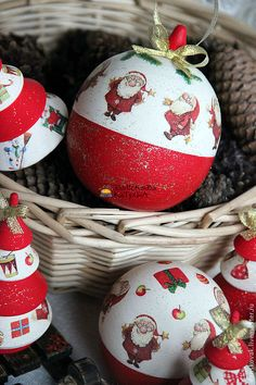"""Купить Шары-шкатулки """"Новогодние"""" - шар, шкатулка, шар шкатулка, шар новогодний, шар на елку"""