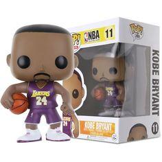 Funko Pop NBA Kobe Bryant Figure for sale online Superman Movies, Batman Vs Superman, Nba Stars, Sports Stars, Vinyl Figures, Action Figures, Kobe Bryant 24, Nba Live, Funk Pop