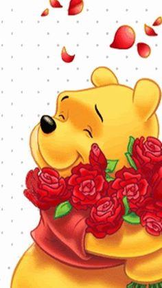 Animated Screensavers - Winnie The Pooh 8 Winnie The Pooh Pictures, Cute Winnie The Pooh, Winne The Pooh, Winnie The Pooh Quotes, Animated Screensavers, Animated Gif, Cute Disney, Walt Disney, Pooh Bear
