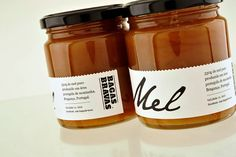 honey jar labels | Bagas Bravas on Packaging of the World - Creative Package Design Gallery