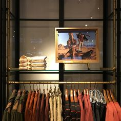 Hangers and custom made point of sale materials for Scotch & Soda by Hooks Creative. #pointofsale #hangers #clothhanger #custommade #visualmerchandising #hookscreative