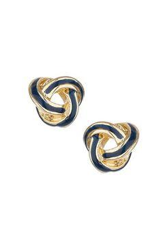 knot earrings $10