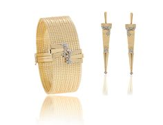 Coleção Meet Diamond em ouro amarelo 18k e detalhe em diamantes