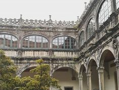 Santiago de Compostela  #santiagodecompostela #claustro #igersspain