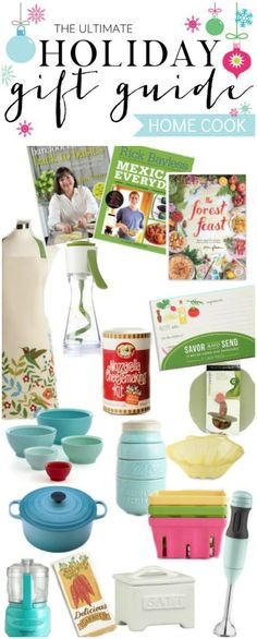 Holiday Gift Guide for the Home Cook and a Giveaway, plus links to 23 other gift guide ideas and 23 giveaways!