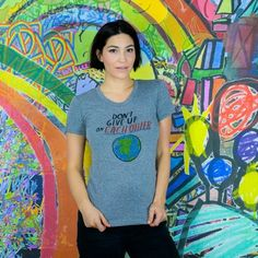 Dallas Clayton   Don't Give Up Women's Tee