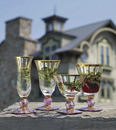 Our iconic Thistle glassware, inspired by the fields surrounding our Studio.