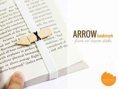 Ice Cream Sticks #2: Arrow Bookmark