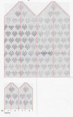 Vanten Hjärtevarm – Dela dina vantar! Knitting Charts, Baby Knitting, Knitting Patterns, Crochet Patterns, Knitting Ideas, Knitted Mittens Pattern, Knit Mittens, Knitted Hats, Crochet Chart