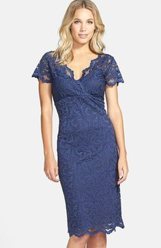 Marina Stretch Lace Sheath Dress available at #Nordstrom