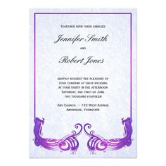 See MorePurple Vintage Peacock Wedding InvitationIn our offer link above you will see
