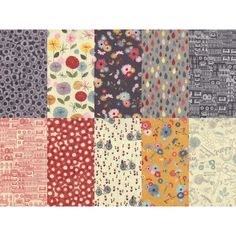 Mon Ami FQB 10 Fat Quarters, Fabric Design, Quilts, Contemporary, Blanket, Sewing, Friends, Comforters, Blankets