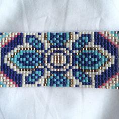 Beaded Bracelet. Seed bead bracelet. Loom by LetsMakeEverything