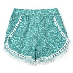 New Fashion Women Casual Loose Print Mini Sport Beach Shorts