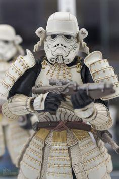 Bandai x Star Wars 名将MOVIE REALIZATION 足軽 Stormtrooper: PHOTOREPORT @Tamashii Showroom, Info Release http://www.gunjap.net/site/?p=246118