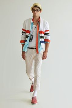 spring/summer layers.... A little bright for me personally, but I loved the color play and layered look!!