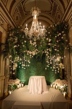 This Secret Garden inspired chuppah leaves me speechless.Photography By / brianhattonphoto.com, Floral Design By / tantawanbloom.com