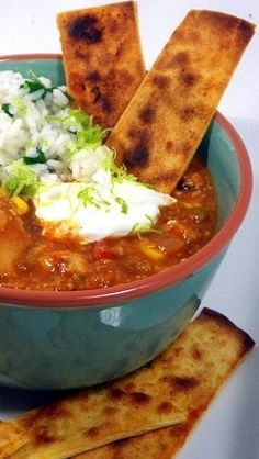 Better Than Chili's Enchilada Soup... Now a Stew... This started as a copycat recipe for the popular soup at Chili's Restaurant.  It ended up SPECTACULAR, thicker, LOADED with goodies and all of the taste of the Mexican Enchilada now in a STEW!