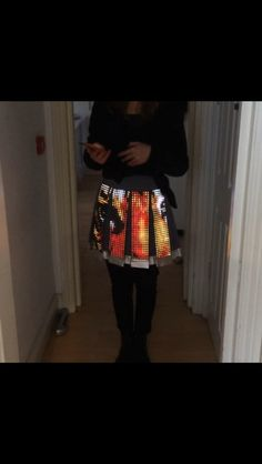 Cute circuit tiger skirt