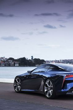 ♂ 2012 Lexus LF-CC Blue Concept Car