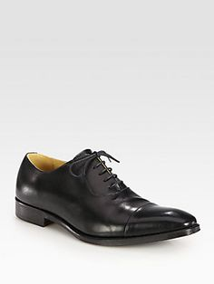 Junya Watanabe Leather Lace-Up Oxfords