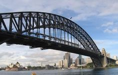 The SYDNEY HARBOUR BRIDGE is the largest & widest steel-arch Bridge in the world!  Construction of the Sydney Harbour Bridge took over eight years, from 1923 to 1932. It was officially opened on 19th March 1932 and today, the Sydney Harbour Bridge is one of Sydney's best recognised icons!