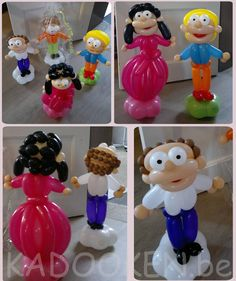 lootle, balloonpeople, ballonmensen, ballon karikatuur, heliumballonnen, ballondecoratie, versiering, aankleding www.kadooken.be
