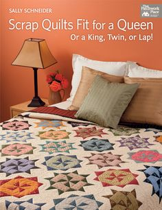 Martingale - Scrap Quilts Fit for a Queen (Print version + eBook bundle)