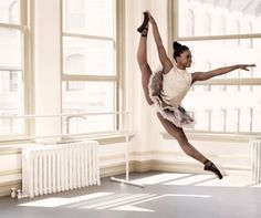 Michaela Deprince (Against the odds: how this orphan from Sierra Leone became a famous ballerina)