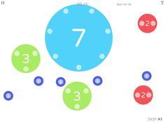 Best math apps for preschoolers: Dexteria Dots app