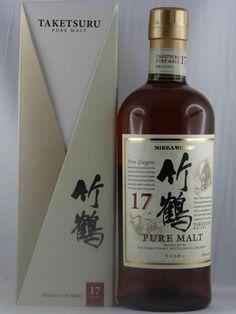 Whisky NIKKA Taketsuru 17 ans disponible à la Vigneronne, caviste sur Toulouse. #whisky #Toulouse #caviste #LaVigneronne #Japon #Taketsuru