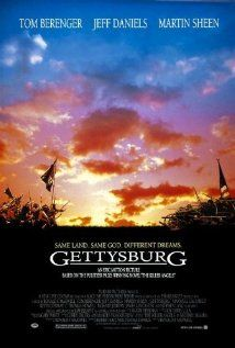 With Tom Berenger, Martin Sheen, Stephen Lang, Richard Jordan. In the Northern and Southern forces fight at Gettysburg in the decisive battle of the American Civil War. Tom Berenger, Martin Sheen, See Movie, Movie Tv, Gettysburg Movie, Civil War Movies, Toms, Soundtrack Music, War Film