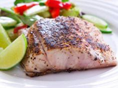 Healthy, tasty, and good for the planet! To see more healthy and sus - Star Fruit Recipes, Hcg Recipes, Clean Recipes, Fish Recipes, Seafood Recipes, Cooking Recipes, Healthy Recipes, Cooking Time, Barramundi Fish Recipe