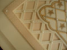 See the detail on the Stitched Lattice Die
