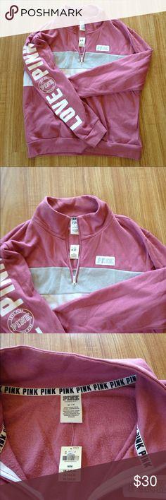 Victoria secret New with tags never worn.Firm PINK Victoria's Secret Tops Sweatshirts & Hoodies