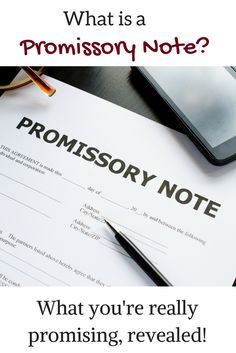 Sample promissory note promissory notes pinterest promissory note what is a promissory note what youre really promising revealed thecheapjerseys Images